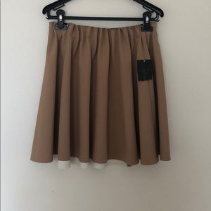 ZARA mini flare skirt